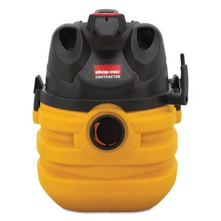 Shop-Vac Heavy-Duty Portable Wet/Dry Vacuum 5gal Capacity 17-pound Black/Yellow
