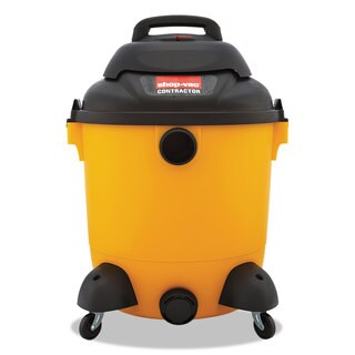 Shop-Vac Economical Wet/Dry Vacuum 12gal Capacity 23lb Black/Yellow