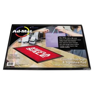 Artistic AdMat Counter Mat 13 x 19 Black Base