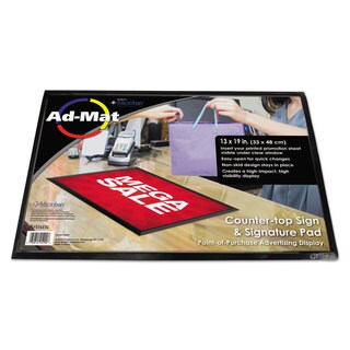 Artistic AdMat Counter Mat 13 x 19 Black Base