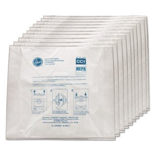 Hoover Commercial Disposable Vacuum Bags Hepa CC1 10/Pack