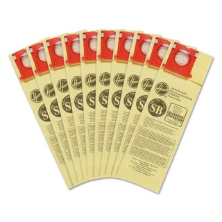 Hoover Commercial Disposable Vacuum Bags Allergen SB 10/Pack