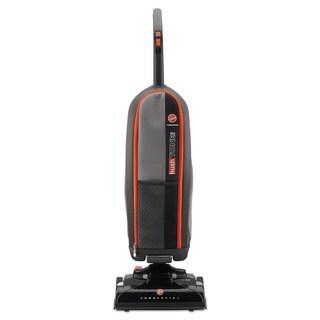 Hoover Commercial HushTone Lite Upright Vacuum Cleaner 11.6-pound Black
