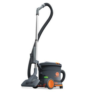 Hoover Commercial HushTone Canister Vacuum Cleaner 10.75-pound Grey