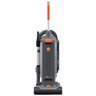 Hoover Commercial HushTone Vacuum Cleaner with Intellibelt 13-inch Orange/Grey