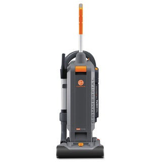 Hoover Commercial HushTone Vacuum Cleaner 13 inches Orange/Grey