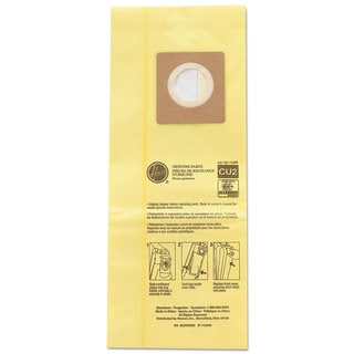 Hoover Commercial HushTone Vacuum Bags Yellow 10/Pack