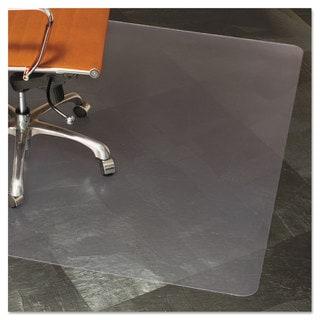 ES Robbins Natural Origins Chair Mat For Hard Floors 46 x 60 Clear