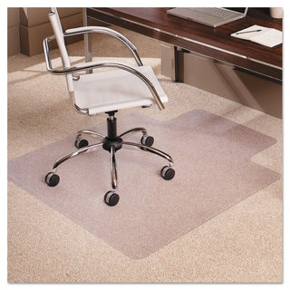 ES Robbins 36x48 Lip Chair Mat Multi-Task Series AnchorBar for Carpet up to 3/8 inches