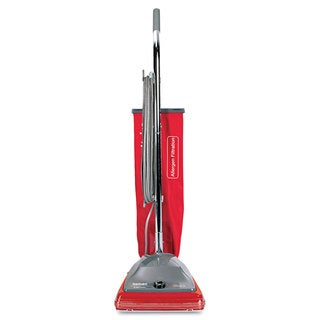 Sanitaire Commercial Standard Upright Vacuum 19.8lb Red/Grey