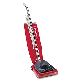 Sanitaire Vacuum with Vibra-Groomer II 16-pound Red