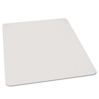 ES Robbins 46x60 Rectangle Chair Mat Multi-Task Series AnchorBar for Carpet up to 3/8 inches