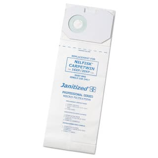 Janitized Vacuum Filter Bags Designed to Fit Nilfisk CarpeTwin Upright 16XP/20XP 100/Case|https://ak1.ostkcdn.com/images/products/14003417/P20626063.jpg?impolicy=medium
