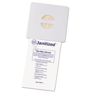 Janitized Vacuum Filter Bags Designed to Fit Nobles Portapac/Tennant 100/Case
