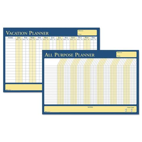 House of Doolittle 100-percent Recycled All-Purpose/Vacation Plan-A-Board Planning Board 36 x 24