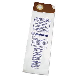 Janitized Vacuum Filter Bags Designed to Fit Windsor Versamatic 100/Case|https://ak1.ostkcdn.com/images/products/14003423/P20626067.jpg?impolicy=medium