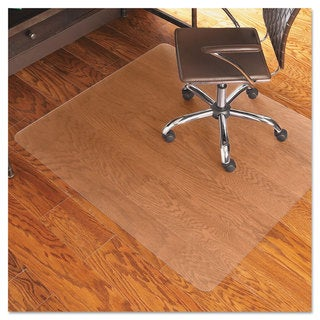 ES Robbins 46x60 Rectangle Chair Mat Economy Series for Hard Floors