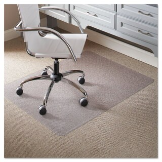 ES Robbins 46 x 60 Rectangle Chair Mat Task Series AnchorBar for Carpet up to 1/4-inch