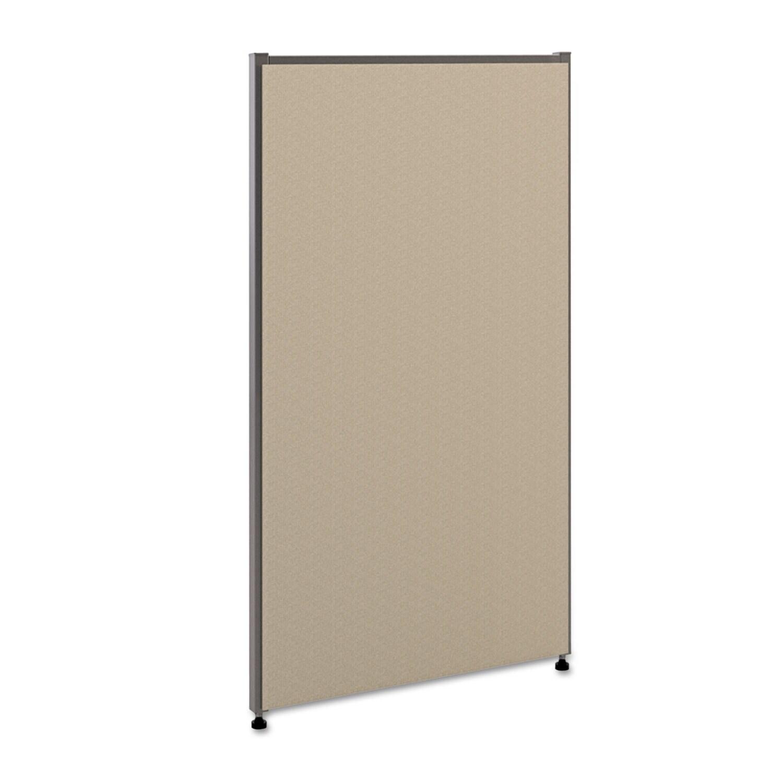 BASYX Verse Office Panel 24-inch wide x 42-inch high Grey...