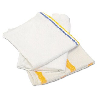Hospital Specialty Co. Counter Cloth/Bar Mop Value Choice White 25 Pounds/Bag