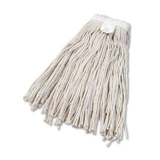 Boardwalk Cut-End Wet Mop Head Cotton No. 24 White 12/Carton