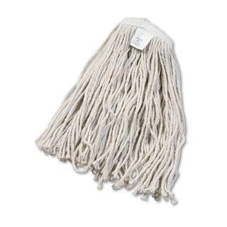 Boardwalk Cut-End Wet Mop Head Cotton No. 20 White 12/Carton