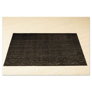 Office Settings Placemats 17 x 12 Black 12/Box
