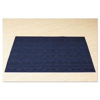 Office Settings Placemats 17 x 12 Blue 12/Box
