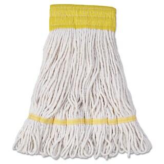 Boardwalk Mop Head Super Loop Head Cotton/Synthetic Fiber Small White 12/Carton