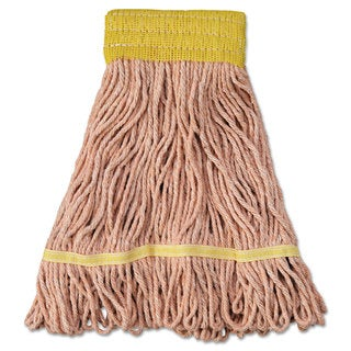 Boardwalk Mop Head Super Loop Head Cotton/Synthetic Fiber Small Orange 12/Carton