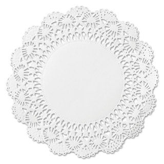 Hoffmaster Cambridge Lace Doilies Round 10 inches White 1000/Carton