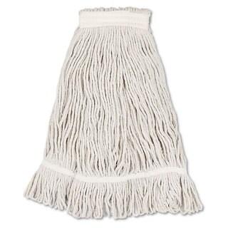Boardwalk Mop Head Loop Web/Tailband Value Standard Cotton No. 32 White 12/Carton