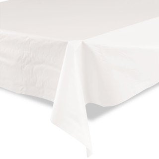 Tablemate Plastic Table Cover 40-inch x 300ft White