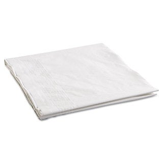 Hoffmaster Cellutex Tablecover Tissue/Poly Lined 54 in x 108 inches White 25/Carton