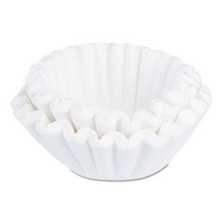 BUNN Flat Bottom Funnel Shaped Filters for BUNN Sys III Brewer 252/Pack