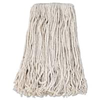 Boardwalk Banded Cotton Mop Head #24 White 12/Carton