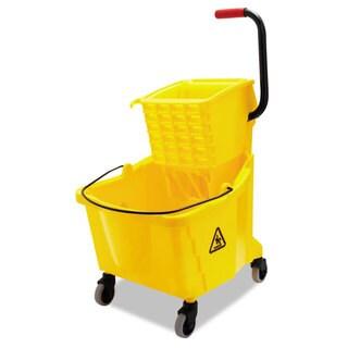 Boardwalk Pro-Pac Side-Squeeze Wringer/Bucket Combo 8.75gal Yellow