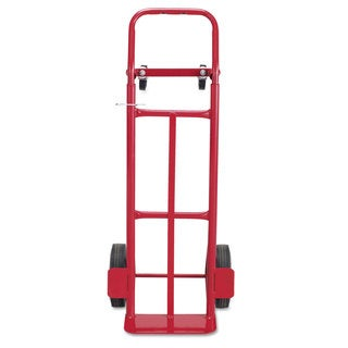 Safco Two-Way Convertible Hand Truck 500-600-pound Capacity 18-inch wide x 51-inch high Red