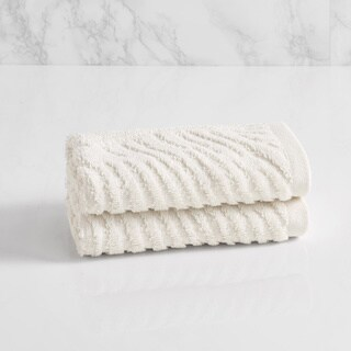 Natori Dynasty Wave Textured Jacquard Washcloth
