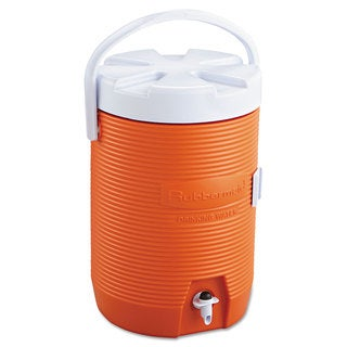 Rubbermaid Water Cooler 12 1/2-inch-diameter x 16 3/4h Orange