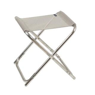 Lafuma ALU PL Alu brut Aluminum Frame Folding Stool with Seigle Batyline Fabric (Set of 6)