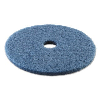 Boardwalk Standard 20-Inch Diameter Scrubbing Floor Pads Blue