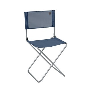 Lafuma CNO Alu brut Aluminum Frame Folding Chair with Ocean Batyline Fabric (Set of 6)