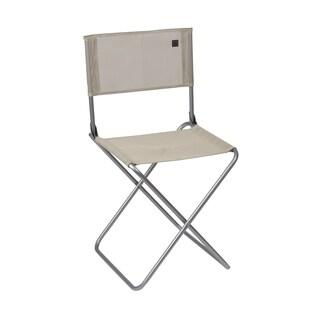 Lafuma CNO Alu brut Aluminum Frame Folding Chair with Seigle Batyline Fabric (Set of 6)