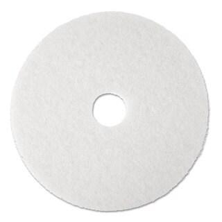 Boardwalk Standard Floor Pads 19 inches dia White 5/Carton