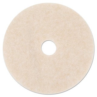 3M Ultra High-Speed TopLine Floor Burnishing Pads 3200 20-Inch White/Amber