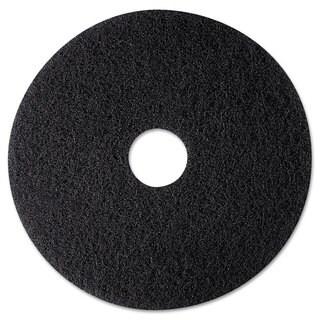 3M High Productivity Floor Pad 7300 12-inch Black 5/Carton