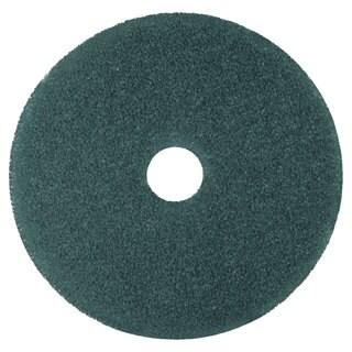 3M Cleaner Floor Pad 5300 12-inch Blue 5/Carton