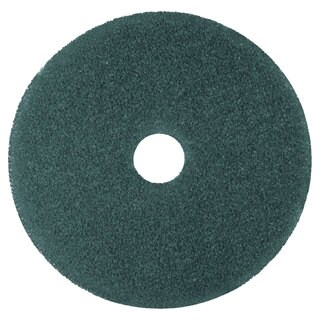 3M Cleaner Floor Pad 5300 20-inch Blue 5/Carton