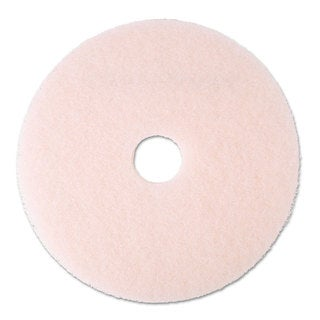 3M Ultra High-Speed Eraser Floor Burnishing Pad 3600 20-inch Pink 5/Carton
